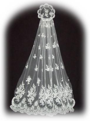 jackie kennedy wedding. Jackie Kennedy Wedding Veil