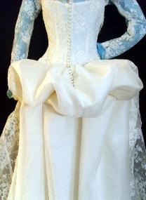 Wedding Gown with Peplum